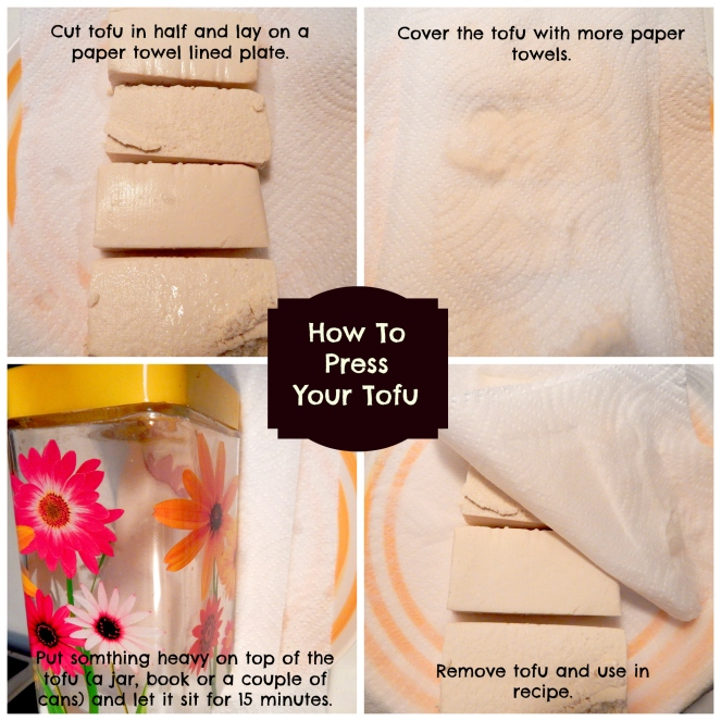 press tofu collage