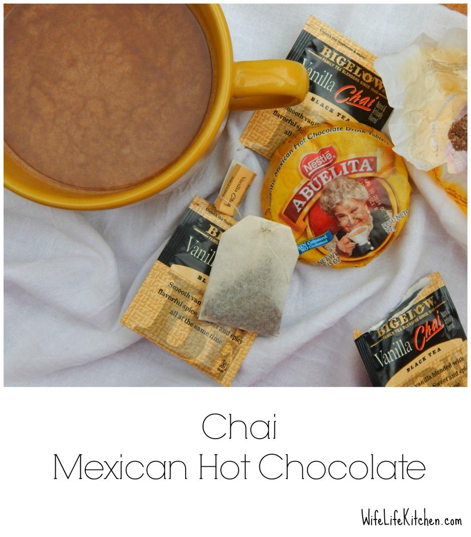 Chai Mexican Hot Chocolate