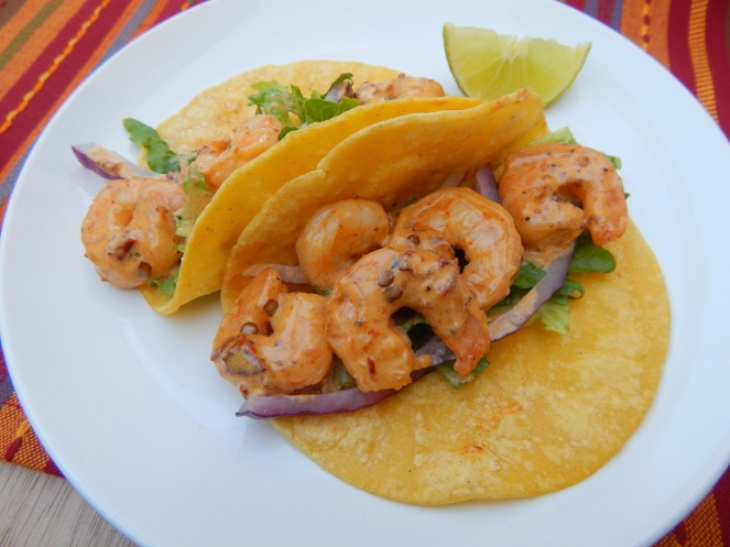 Creamy Chipotle Shrimp Tacos 5