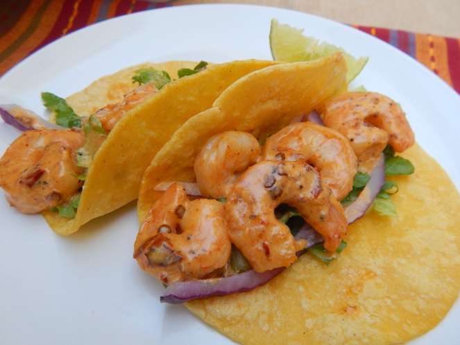 Creamy Chipotle Shrimp Tacos 7