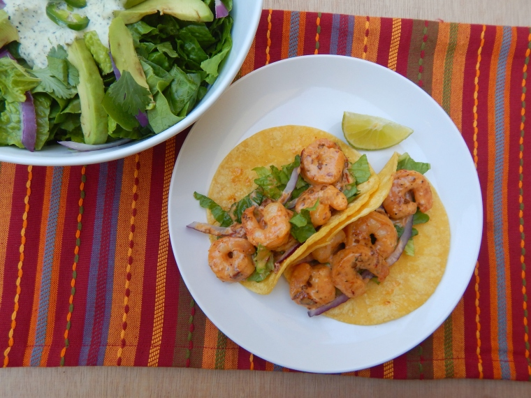Creamy Chipotle Shrimp Tacos 8