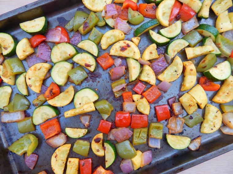 Roasted Veggie Bowls 1Wife Life
