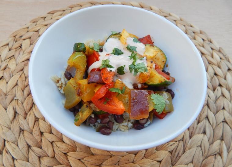 Roasted Veggie Bowls 4 Wife Life