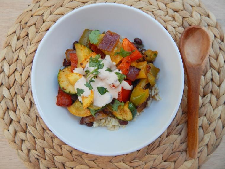 Roasted Veggie Bowls 5 Wife Life