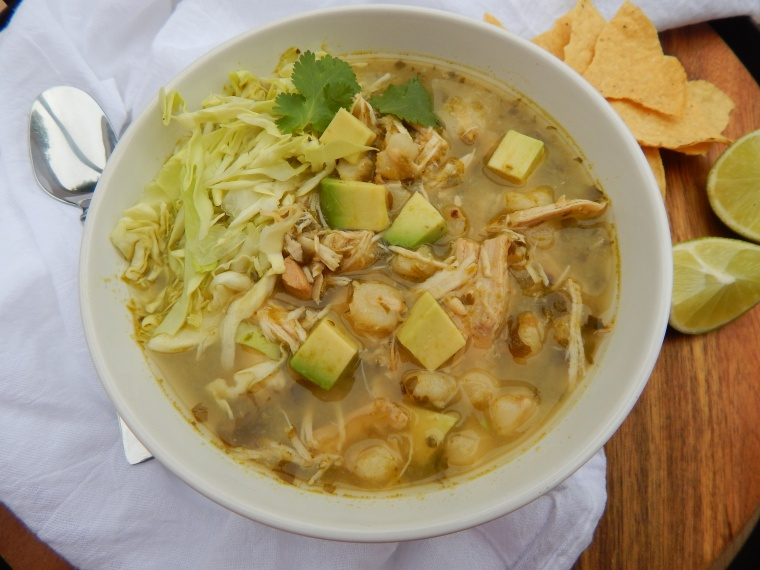 Slow Cooker Chicken Pozole Verde 009