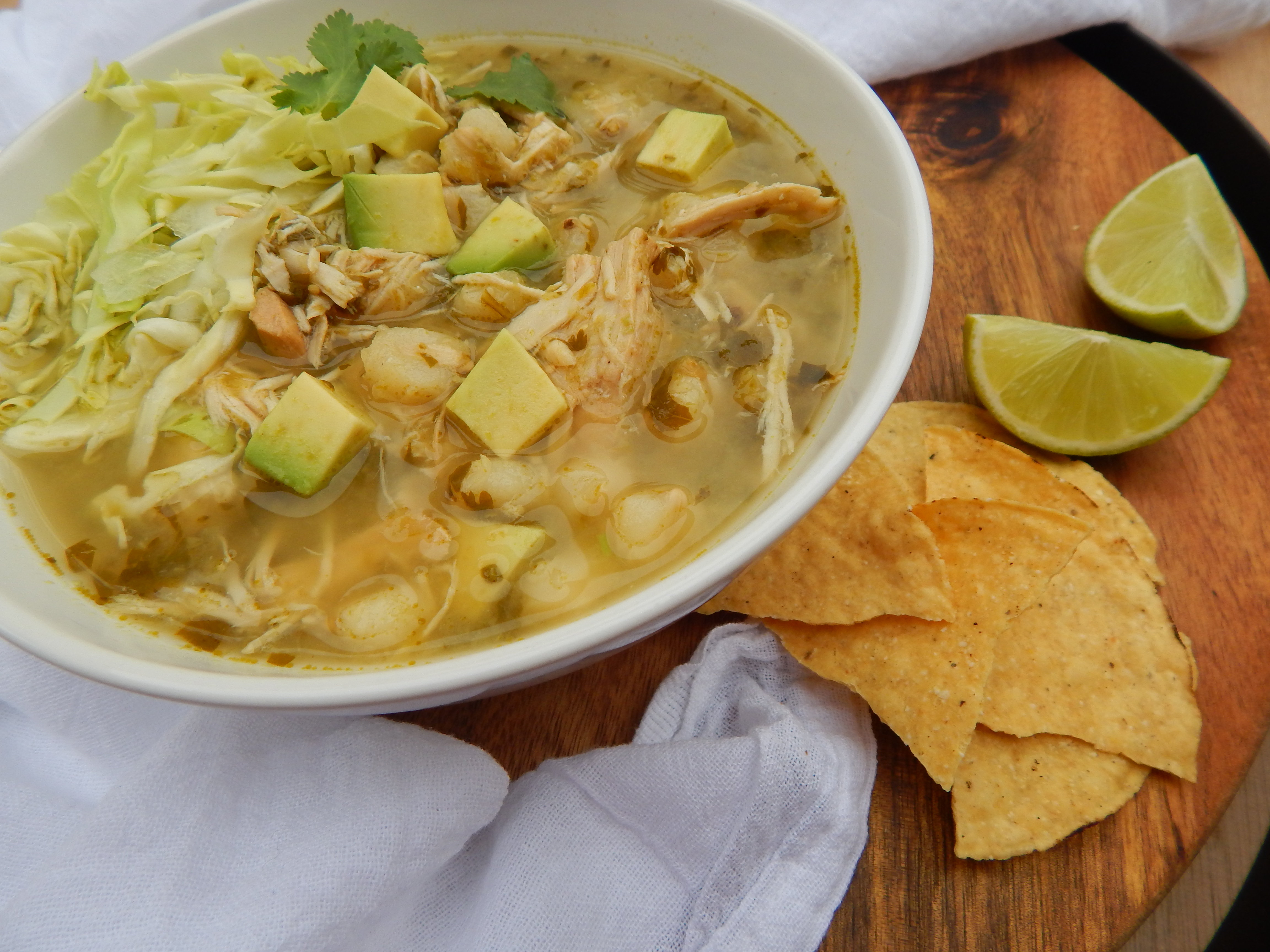 "22 thoughts on "" Slow Cooker Chicken Pozole Verde """