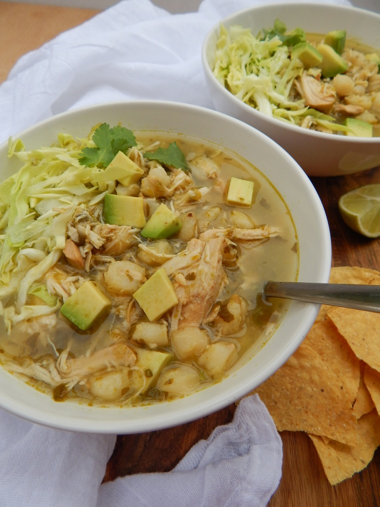 Slow Cooker Chicken Pozole Verde 036