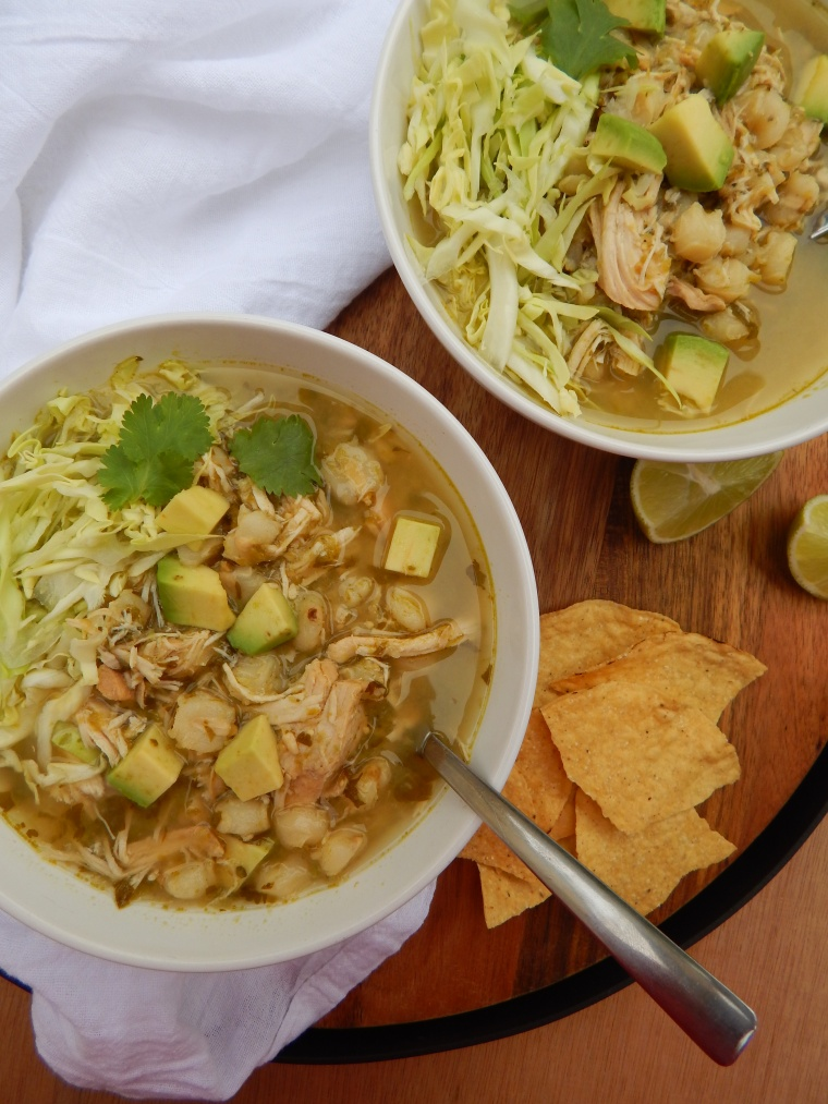 Slow Cooker Chicken Pozole Verde 050