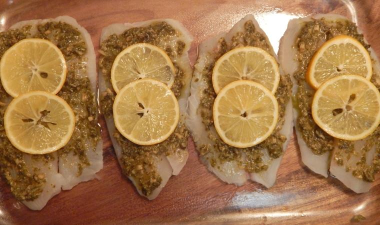 Lemon Pesto Tilapia4
