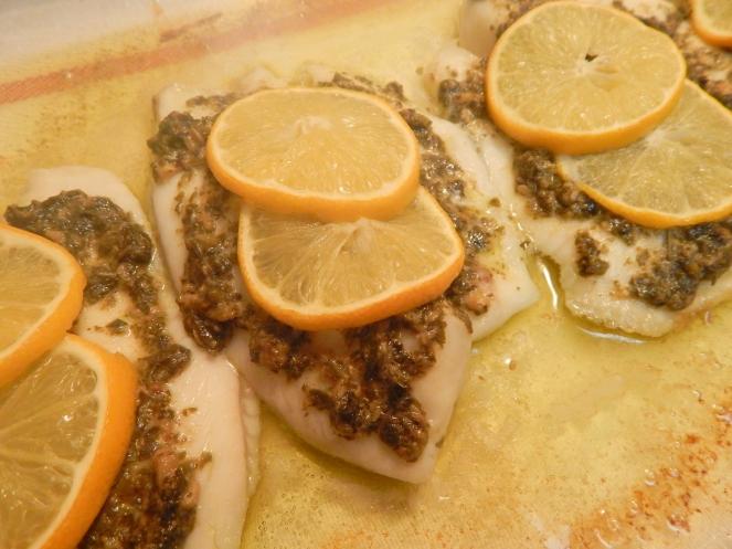 Lemon Pesto Tilapia6