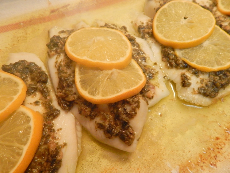 Lemon Pesto Tilapia6