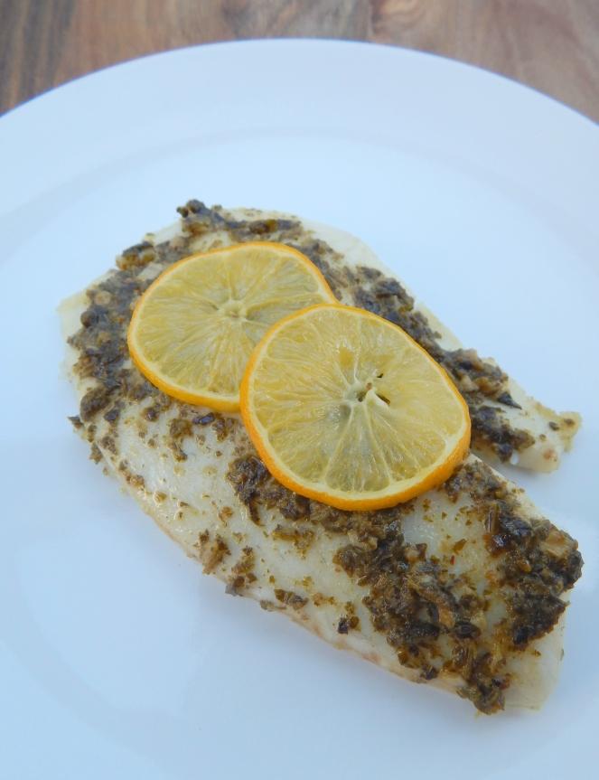 Lemon Pesto Tilapia7
