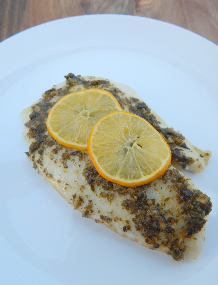 Lemon Pesto Tilapia7