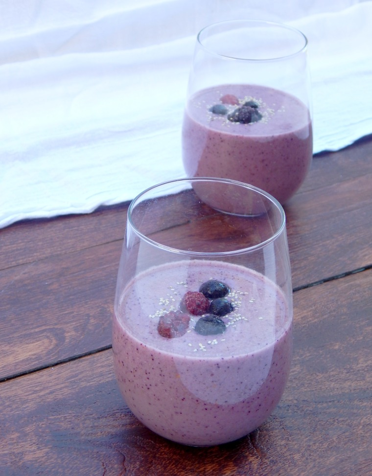 Berry Chia Smoothie 1