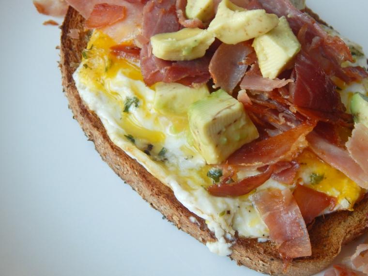 Prosciutto Egg Avocado Toast 11
