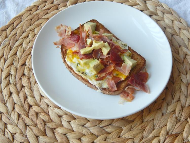 Prosciutto Egg Avocado Toast 4