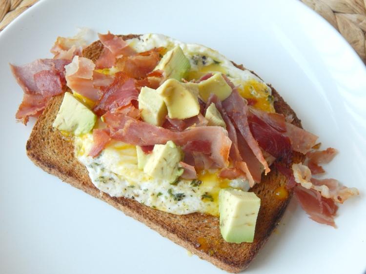 Prosciutto Egg Avocado Toast 7
