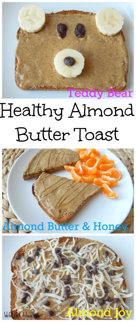 Almond Butter Toast Pinterest