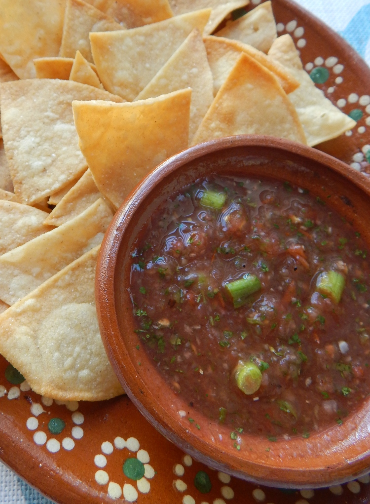 Homemade Chips Salsa 2