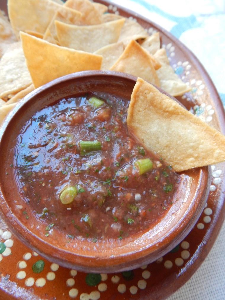 Homemade Chips Salsa 3