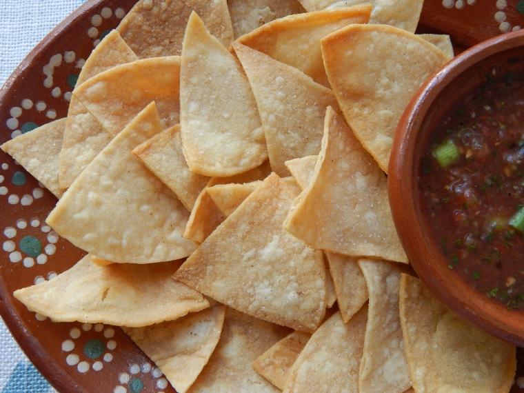 Homemade Chips Salsa 4