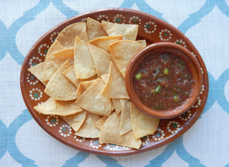 Homemade Chips Salsa 5