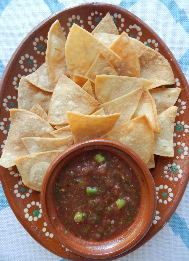 Homemade Chips Salsa