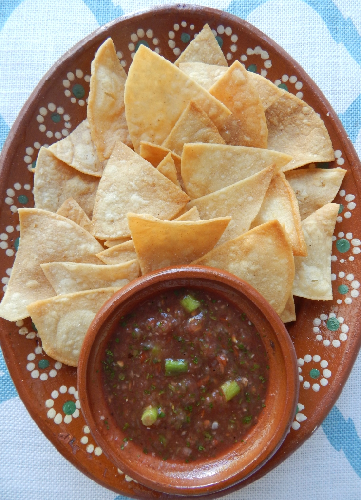 Homemade Chips Salsa