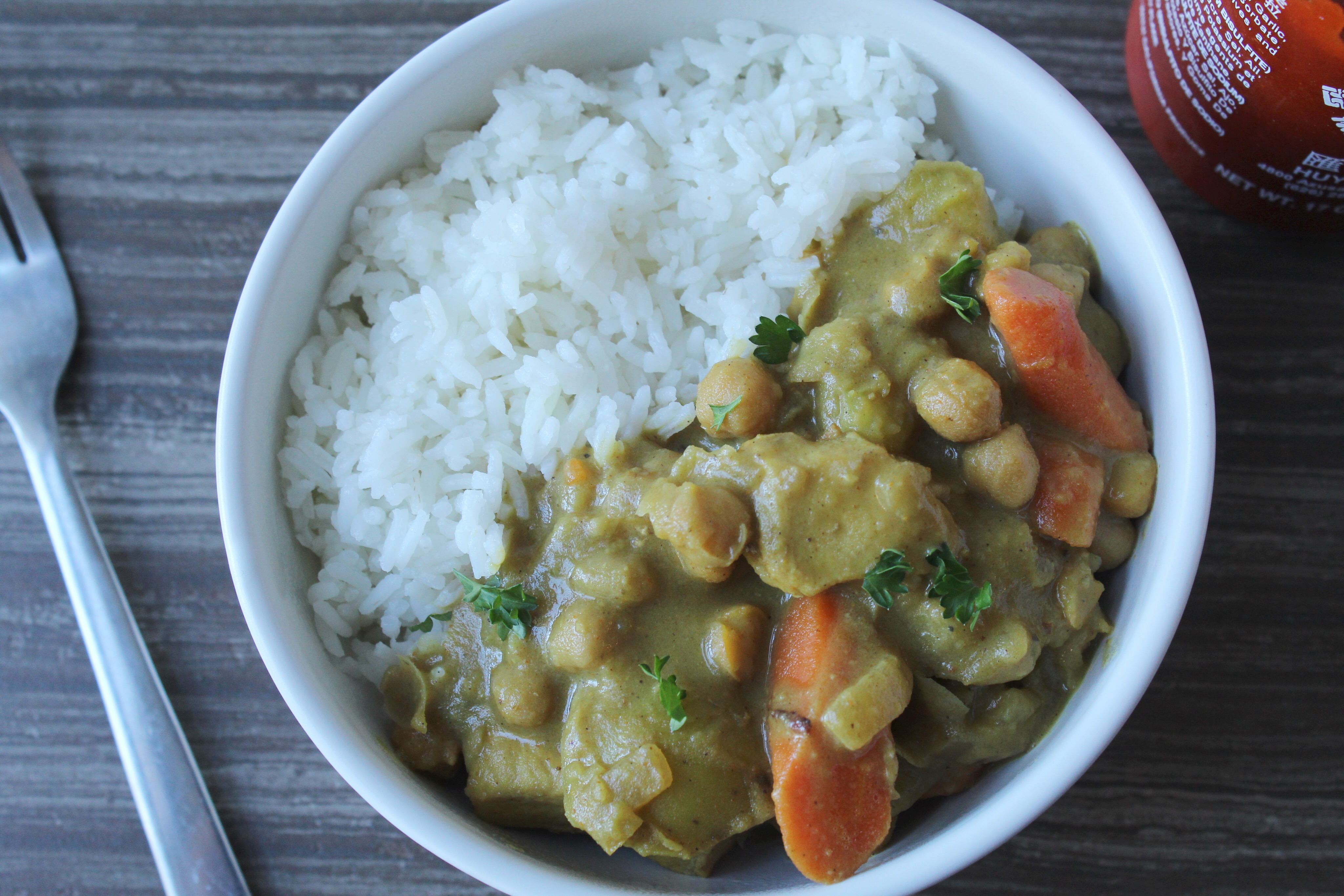 Chicken and Vegetable Coconut Curry
